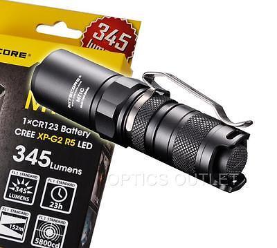 (NiteCore MT1C 345 Lumens Cree LED Flashlight - Use 1xCR123A - Brighter than PD22)