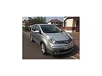Nissan Note Tekna 2007 Auto 1.6 16v 5dr With One Year M.O.T & Service History Clean Inside Out.