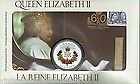 Piece de monnaie et timbre 2012 Queen's Jubilee stamp and coin