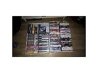 2 X BOXES MIXED DVD/VHS/PS2/CDROM