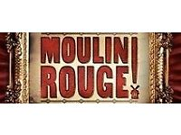 1 x Moulin Rouge Secret Cinema Ticket for SOLD OUT show - TONIGHT!