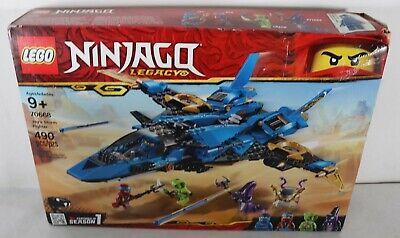 LEGO 70668 Ninjago Jay's Storm Fighter 490pcs New Box Damage Free Shipping