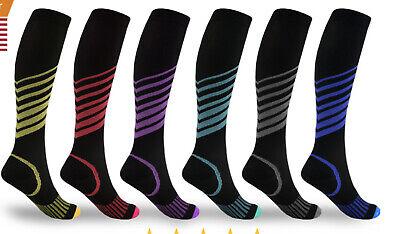 Compression Socks (15-20mmHg) for Men & Women BEST Stockings for Running (Best Compression Stockings For Travel)