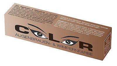 Color Wimpernfarbe Augenbrauenfarbe NATURBRAUN 15ml Wimpern Färbung €28,33/100ml