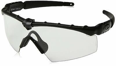 Oakley Sunglasses Ballistic M Frame 2.0 Matte Black w/ Clear Lens OO9213-04