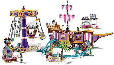 LEGO Friends Muelle de la Diversión de Heartlake City Barco Pirata y...