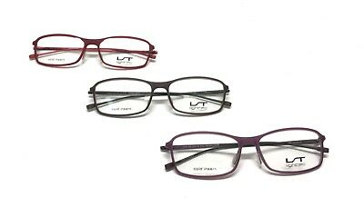 LOT OF 3 Lightec by Morel 7316L Eyewear Optical Frame DEMO Lenses France (Lightec Eyewear)