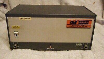 Amplifier Research 10w1000m7 Amp 100 Mhz To 1 Ghz 10 Watt Cw