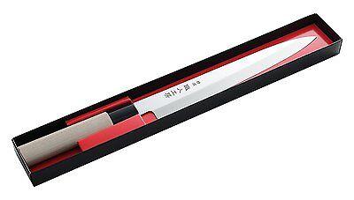 Japanese Arnest Yanagi Kitchen Knife 210mm Sushi Sashimi Made in JAPAN A-12832