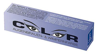 Color Wimpernfarbe Augenbrauenfarbe BLAU 15ml Wimpern Färbung €28,33/100ml