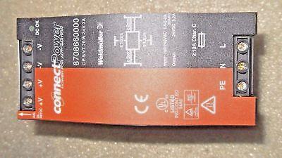 V17 1 New Weidmuller 8708660000 Power Supply