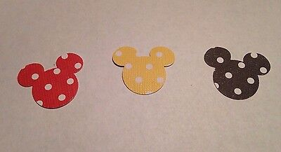 Mickey Mouse Cut Outs (100 Mickey Mouse Disney Punch Cut Outs 1