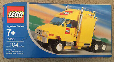 LEGO 10156 City Semi Truck Brand New Sealed 2004 Hard to Find Retired Box Bent