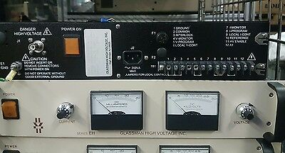 Glassman Eh Series 100 Watt Regulated High Voltage Dc Power Supply. Fedex Ship