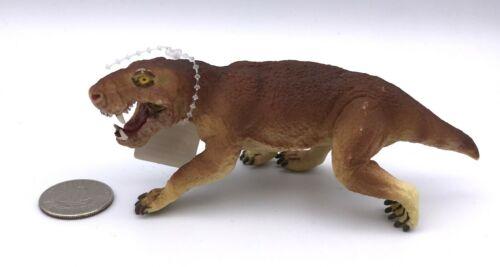 Safari Ltd INOSTRANCEVIA 2010 Dinosaur Prehistoric Carnivore Figure Gorgonopsid