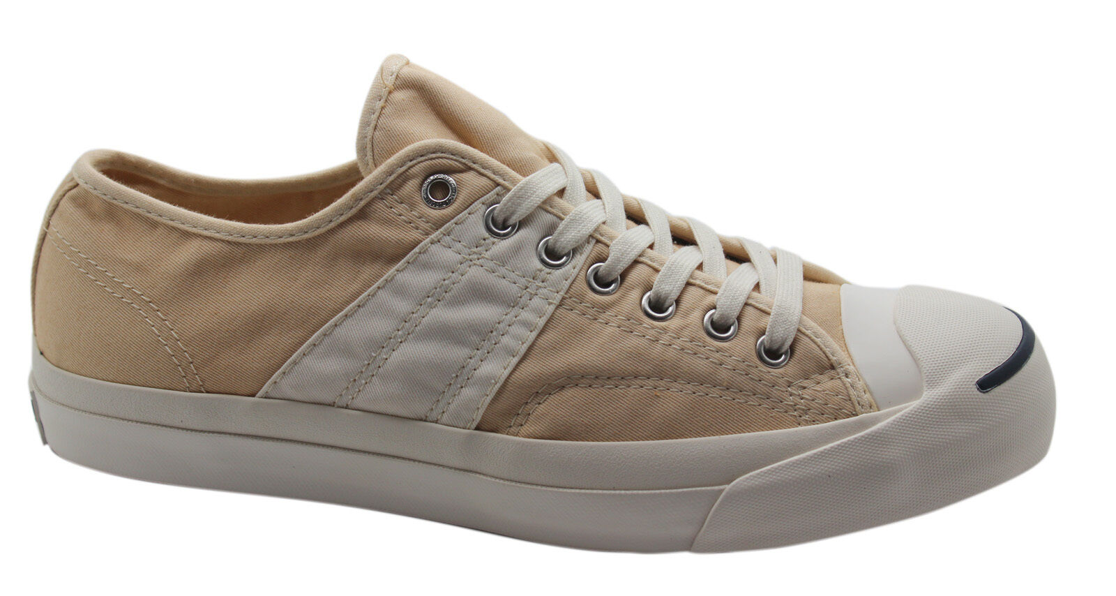 3f682e056173 Converse JP OX Oxford Jack Purcell Baige Canvas Mens Unisex Trainers ...