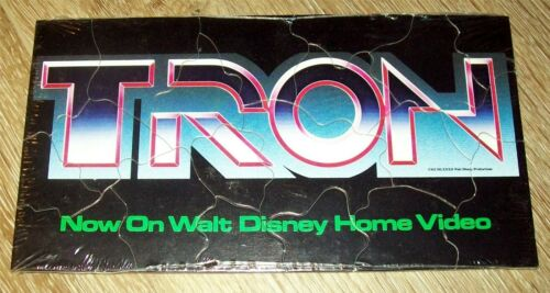Tron - On Home Video - Puzzle Promo Item - New Sealed