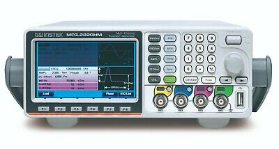 Gw Instek Mfg-2220hm 200mhz Arbitrary Function Generator Dual Channel Afg