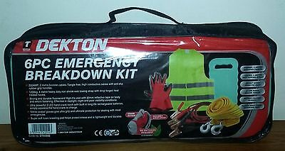 NEW Vehicle 6pc Emergency Break Down Kit