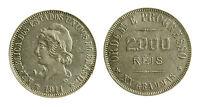 Pcc2033_18) Brasile Brazil - 2000 Reis 1911 -  - ebay.it