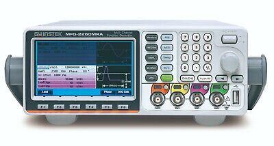 Gw Instek Mfg-2260mra 60mhz 2 Ch Arbitrary Function Generator Signal Generator