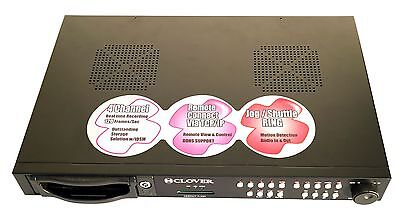 Clover CDR4070 Standalone 4 Channel DVR IP Addressable Digital Video Recorder