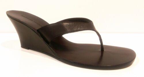 ANTONIO MELANI :: All Leather :: Wedge Thong Sandals :: Sz 7
