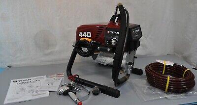 Titan 440 Impact Elect Airless Paint Spray Rig Gun Hose Tip Professional Tool