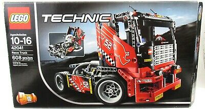 LEGO 42041 Technic Race Truck 100% Complete With Box And Instructions