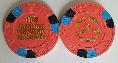 Las Vegas Vegas World Ncv Casino Chip   Nm