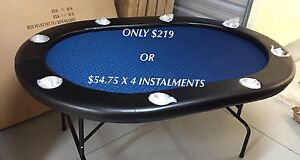 CHRISTMAS SPECIAL DEAL ON POKER TABLE Hope Valley Tea Tree Gully Area Preview
