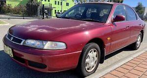 1995 Mazda 626 Deluxe Red 5 Speed Manual Sedan Malaga Swan Area Preview