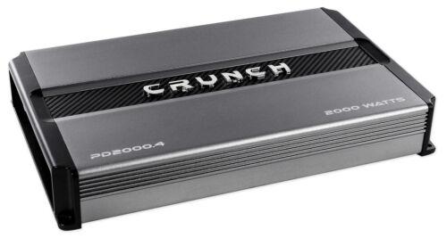 CRUNCH PD 2000.4 POWER DRIVE 4-Channel Pro Power Bridgeable