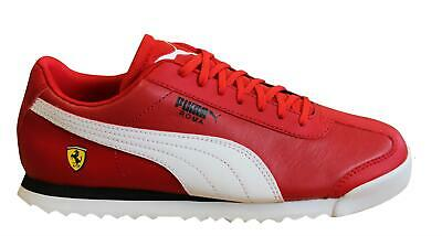 Puma x Scuderia Ferrari Roma Red Mens Trainers Lace Up Shoes 306083 12