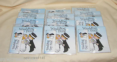 CHILDRENS/KIDS WEDDING FAVORS**activity book & crayons** Lot of 12