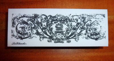 Gebraucht, LaBlanche Stempel * Ornament Schnörkel Bordüre * Feinkonturenstempel Hintergrund gebraucht kaufen  Cambs