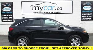 2015 Acura RDX LEATHER, SUNROOF, AWD, BLACK BEAUTY!!