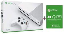 Xbox One S 1TB System Bundle (1TB) 3 Month Xbox Live  Brand New