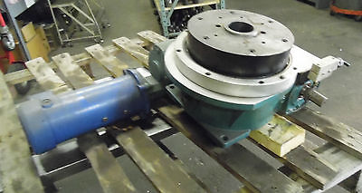 10 Camco 4 Position Index Table W Reducer And Motor 902rdm4h32-330 Used