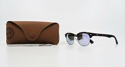 Ray-Ban Junior Unisex Purple Mirrored Sunglasses w/case RJ 9050S 7018/4V (Ray Ban Purple Sunglasses)