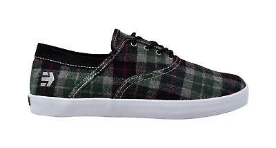Plaid Schuhe (Etnies Corby black/plaid Skater Schuhe/Sneaker mehrfarbig)