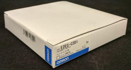 NEW Omron E2EC-C3D1 Proximity Switch / Sensor