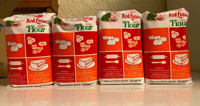 Red Lotus Flour 4bgs x 1kg