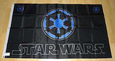 Star Wars Flagge von PEHL - limitiert - Imperial - 1997 - Neu/New - RARE