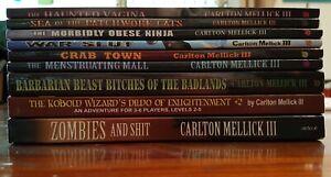 Carlton Mellick III Bizarro Fiction Book Collection