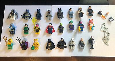LEGO 24 Minifigures Lot, DC, Batman, Star Wars, Harry Potter Rare!