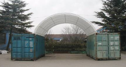 "Igloo Dome Container Shelter - 20"" x 20"" ( 6m x 6m )"