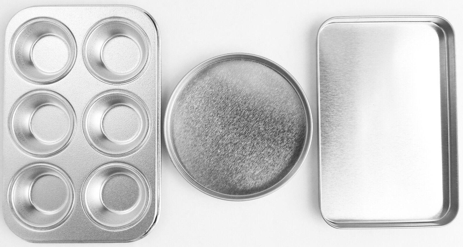 Baking Pan Set for EASY BAKE Ultimate Oven - Brand New Repla
