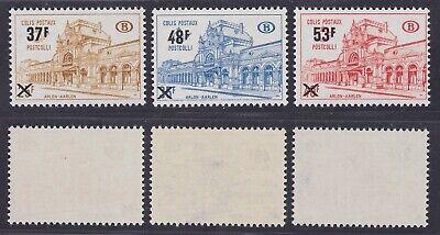 Belgium 1970 Railway Stamp set COLIS POSTAUX Cob 404/6 - Unused MNH Luxe...A6218