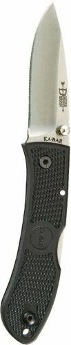 KABAR - MINI DOZIER FOLDER-BLACK-BLK CLIP - STR - 4072